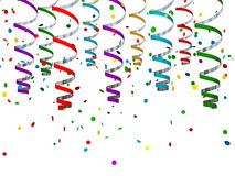 Festive background of confetti. Illustration Royalty Free Stock Photos
