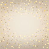 Festive background with confetti. Festive background with confetti with space for text. Can be used as background for different celebrations: birthday Stock Images