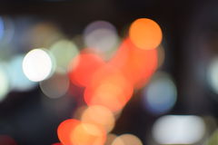 Festive background with defocused lights.  Stock Images