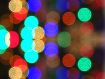 Festive background with defocused lights Stock Images