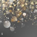 Festive background with defocused lights. EPS 10. Vector file included Stock Photography