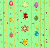 Festive background for Easter. Original editable vector illustration Stock Image