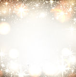 Festive background. With fireworks Vector Illustration Stock Image