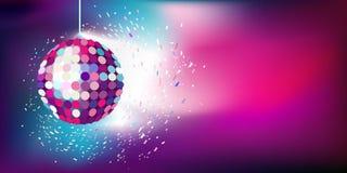 Festive background. Gala ball on a beautiful background Stock Image