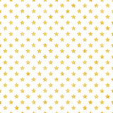 Festive background with gold stars Royalty Free Stock Image