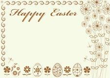 Festive background  Happy Easter beautiful  illustration Stock Image
