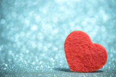 Festive background with heart Royalty Free Stock Photography
