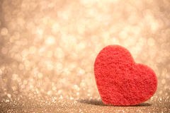 Festive background with heart Royalty Free Stock Image