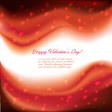 Festive background with hearts Stock Photo