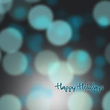 Festive background of lights Royalty Free Stock Photos