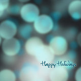 Festive background of lights Stock Image