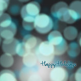 Festive background of lights Stock Photography