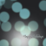 Festive background of lights Stock Photo