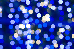 Festive background of lights. Andbokeh Royalty Free Stock Images