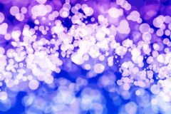 Festive Background With Natural Bokeh And Bright Golden Lights. Vintage Magic Background With Color Royalty Free Stock Photography