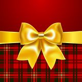Festive background with ribbon bow. 10eps. Perfect as invitation or congratulation Royalty Free Stock Images