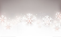 Festive Background. With snowflakes Vector Illustration Royalty Free Stock Images