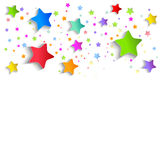 Festive background of stars Royalty Free Stock Image