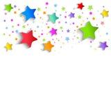 Festive background of stars. Vector illustration Royalty Free Stock Image