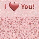 Festive background for Valentine's DayŒ. Festive background for Valentine's Day for your design Stock Photo