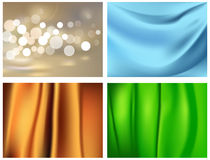 Festive backgrounds. Vector Festive Blank Backgrounds for Your Design, Gradient Mesh and Transparency Used Royalty Free Stock Photography