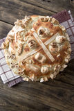 Festive bakery Holiday Bread Stock Image
