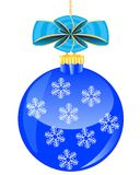 Festive ball with bow Stock Photo