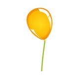 Festive balloon icon image Royalty Free Stock Image