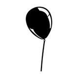 Festive balloon icon image Royalty Free Stock Photo