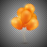 Festive Balloon pack. Vector illustration Royalty Free Stock Photos