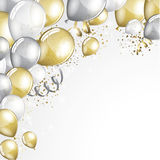 Festive Balloons background Stock Photography