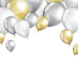 Festive Balloons background Royalty Free Stock Image