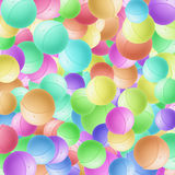 Festive balls. Abstract fantasy, can be used designers for creation and processing of different images Stock Image