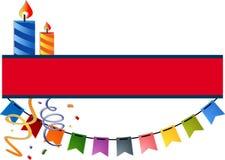 Festive banner Stock Images