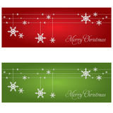 Festive banners. Christmas and New Year theme Stock Photo