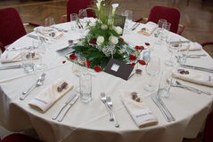 Festive banquet Stock Image