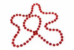 Festive Beads Royalty Free Stock Photography