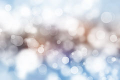 Festive beautiful multi color bokeh light, defocused blur background. Royalty Free Stock Photo