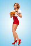 Festive beers. Royalty Free Stock Photo