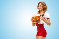 Festive beers. Stock Photo