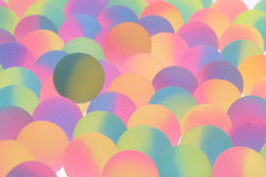 Festive bicolor plastic balls background Stock Image