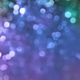 Festive blue background. Elegant blue background. Abstract background with bokeh defocused lights Royalty Free Stock Photos