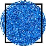 Festive blue background. Stock Photo