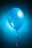 Festive blue balloon Royalty Free Stock Photography
