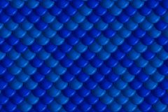 Festive blue scales plating background Royalty Free Stock Photo