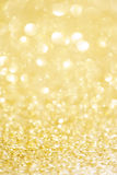 Festive blur background. Abstract twinkled bright background w. Festive blur background. Abstract twinkled Christmas  background with bokeh defocused golden Stock Image