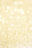 Festive blur background. Abstract twinkled Christmas  backgrou. Nd with bokeh defocused golden lights and stars Stock Image