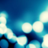 Festive blur background with natural bokeh and bright silver lig Stock Images