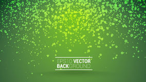 Festive bokeh back green. Festive green bokeh vector background for your design Royalty Free Stock Image