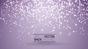 Festive bokeh back purple. Festive purple bokeh vector background for your design Stock Images